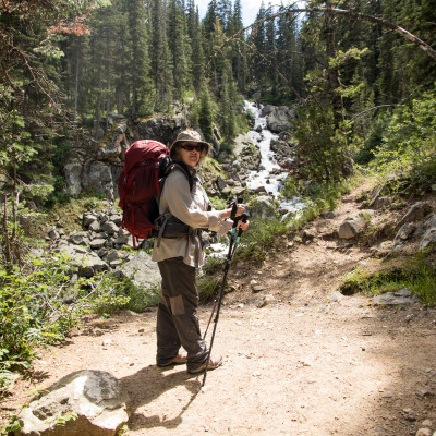 VerDel backpacking Cascade Canyon