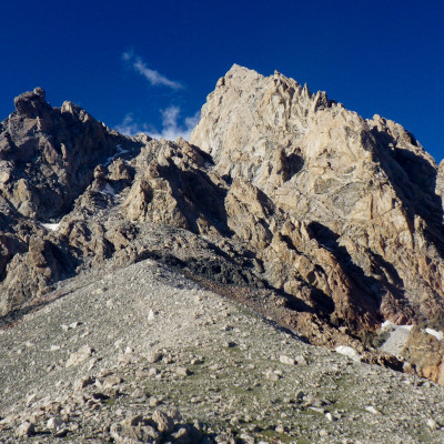 Grand Teton from Lower Saddle