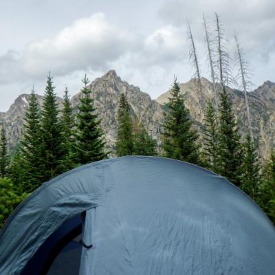 Campsite in Cascade Canyon