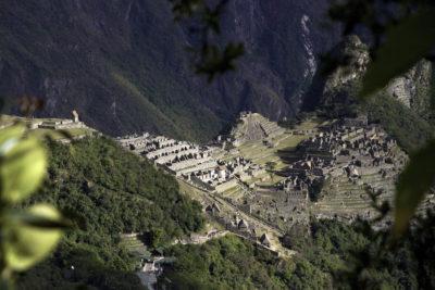 Machu Picchu from Inki Puntu (Sun Gate) trail