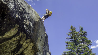 Climbing Class (rapel - -that's me)